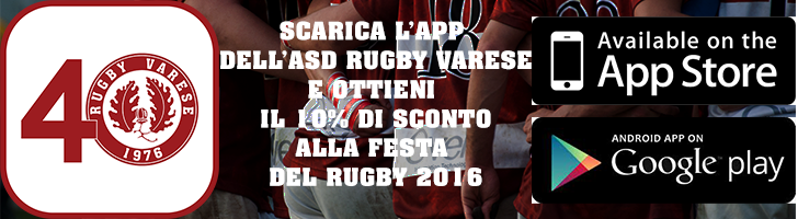 App Rugby Varese