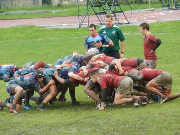 Seniores: Rugby Dalmine - Cadetti ASD Rugby Varese 14 - 10