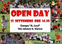 Open day Minirugby - Memorial Sacchetti 2018