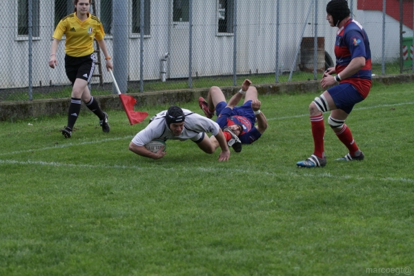 Seniores: ASD Rugby Varese - Rugby Parabiago 19 - 45