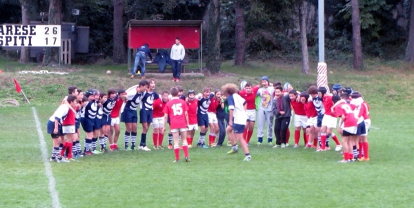 Under 14: ASD Rugby Varese - Rugby Rovato 5 - 59