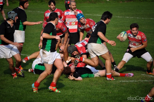 Seniores: ASD Rugby Varese - Rugby RHO 48 - 12