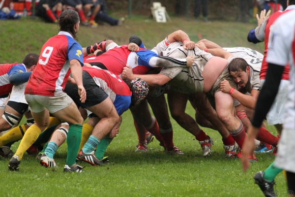 Seniores: Chicken 2012 Rugby - ASD Rugby Varese 12 - 29