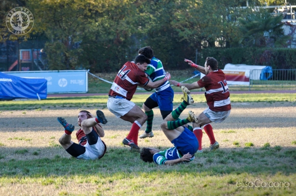 Seniores: CUS Milano Rugby - ASD Rugby Varese 72 - 8