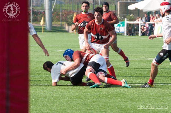 Seniores: AS Rugby Milano - ASD Rugby Varese 7 - 55