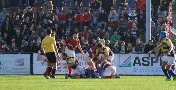 Seniores: ASD Rugby Varese - Rugby Parma 1931 14 - 22