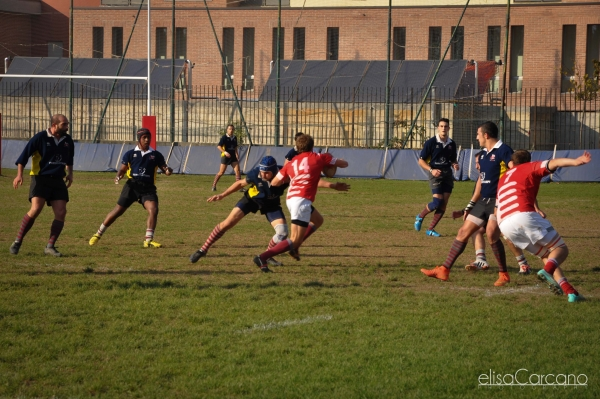 Seniores: Rugby Cernusco - ASD Rugby Varese 13 - 35