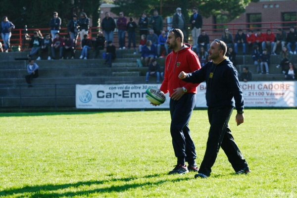 Seniores: Rugby Parma 1931 - ASD Rugby Varese 31 - 10