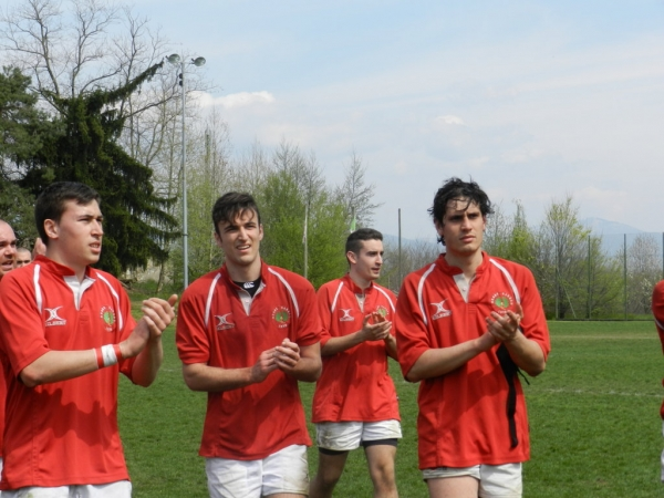 Seniores: ASD Rugby Varese Cadetti - Rugby Seregno 19 - 33