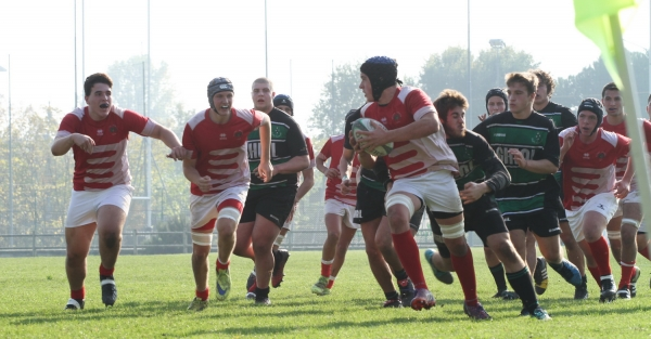 Under 18: Rugby Fiumicello - ASD Rugby Varese 9 - 33