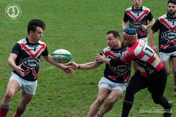Seniores: ASD Rugby Varese - Rugby RHO 33 - 10