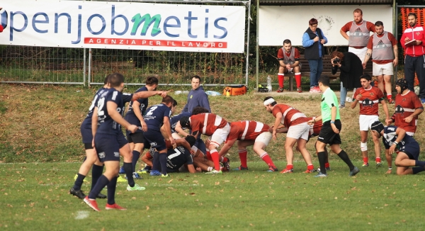 Seniores: ASD Rugby Varese - Rugby Rovato 11 - 34