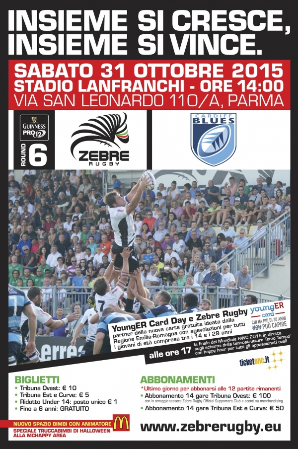 Zebre Rugby: Zebre Rugby - Cardiff Blues