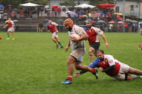 Seniores: ASD Rugby Varese - Chicken 2012 Rugby 17 - 9