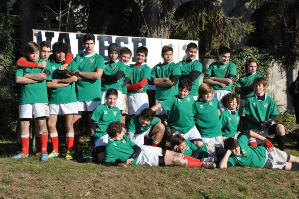 Under 14: Varese - Rivers Brembate 112 - 0